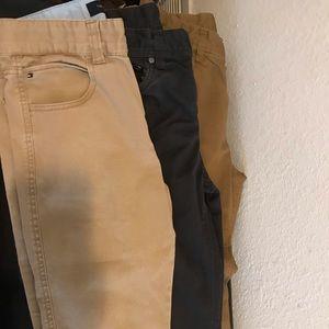 Lot of 3 Boys pants size 16